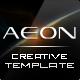 AEON Futuristic Template for Joomla!  Free Download