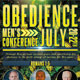 Obedience Men's Conference Church Flyer Template - GraphicRiver Item for Sale
