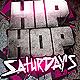Hip Hop Saturdays Flyer - GraphicRiver Item for Sale