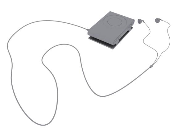 3DOcean Apple Ipod Shuffle 3D Model 2613428