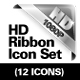 HD Corner Ribbons  - GraphicRiver Item for Sale