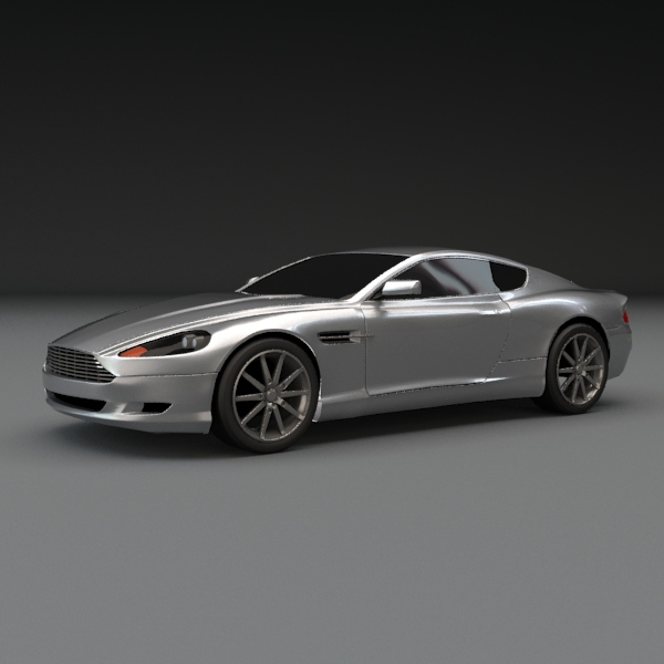 Aston martin db9 coupe car - 3DOcean Item for Sale