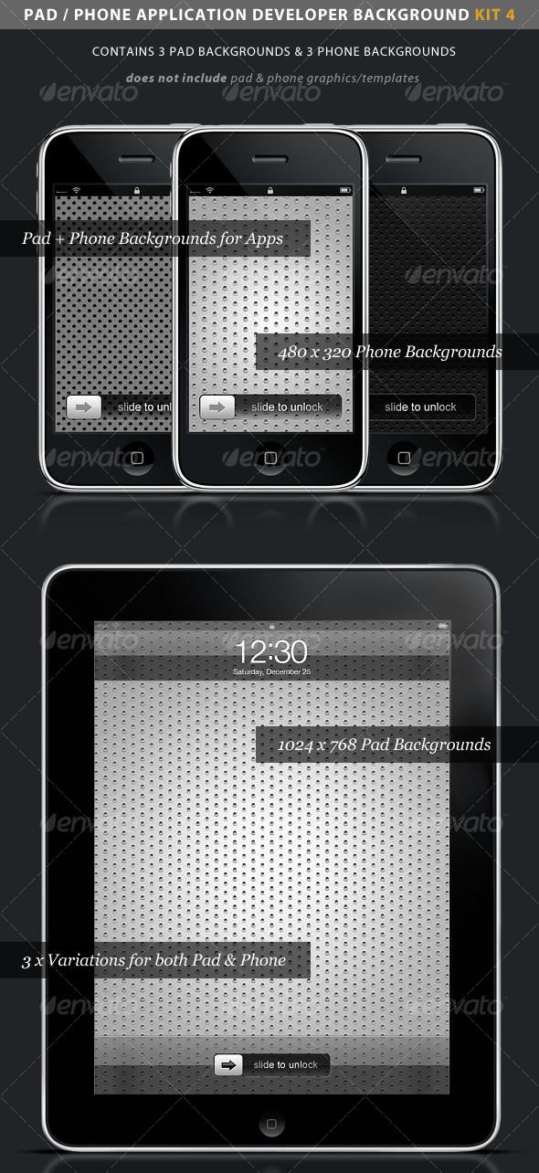 GraphicRiver iPad iPhone App Developer Kit 4 > Metal 94793