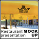 Restaurant Presentation Mock-Up - GraphicRiver Item for Sale