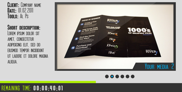 After Effects Project - VideoHive Clean Presentation 2614235