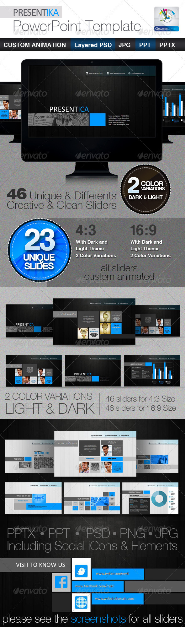 PRESENTIKA PowerPoint Presentation Templates - Finance Powerpoint Templates
