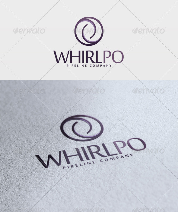 Whirlpo Logo - Vector Abstract
