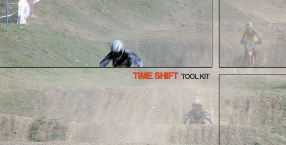 After Effects Project - VideoHive Time Shift Tool Kit 2615188
