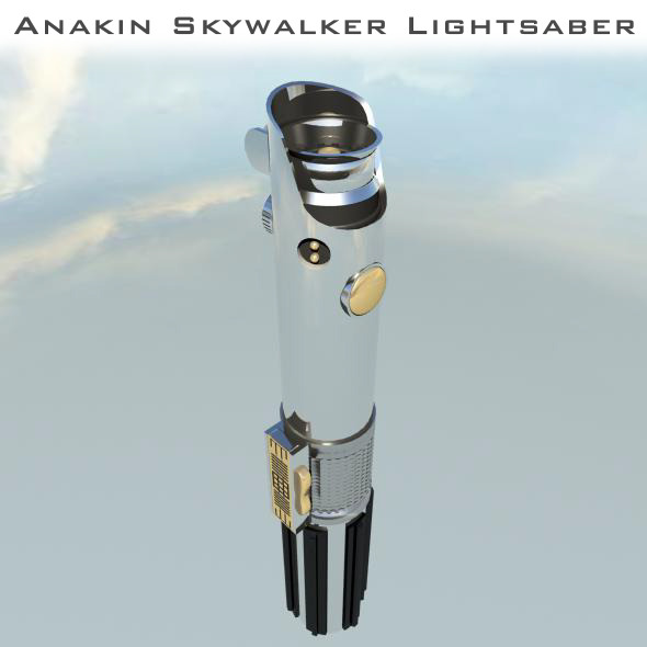3DOcean Star Wars Anakin Skywalker Lightsaber 2616091