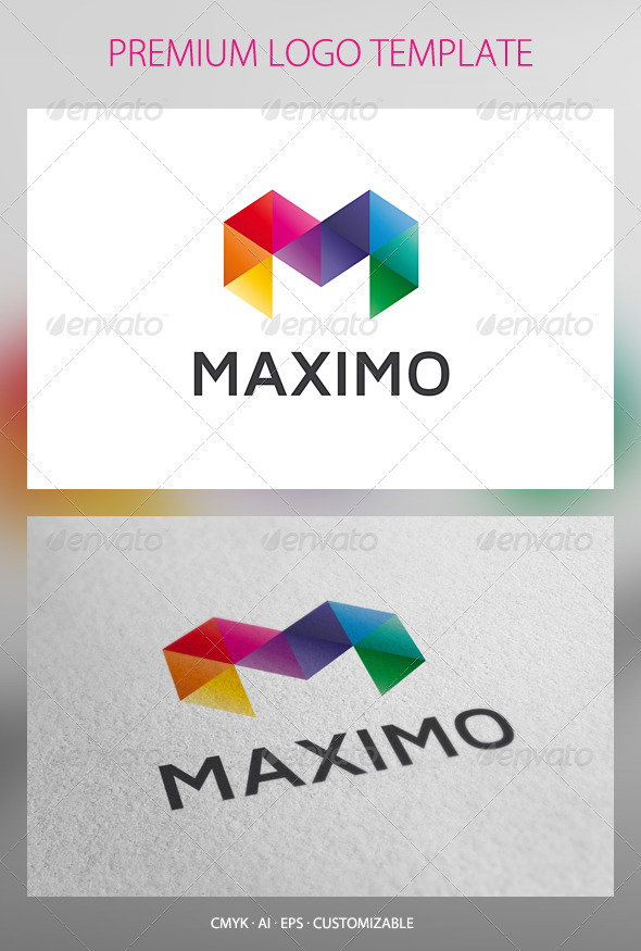 Maximo Logo Template - Letters Logo Templates