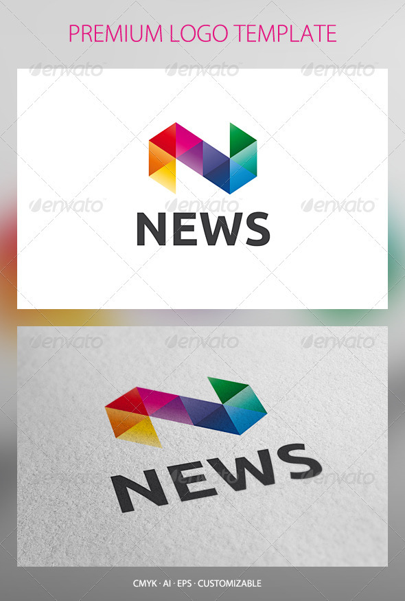 GraphicRiver News Logo Template 2616866