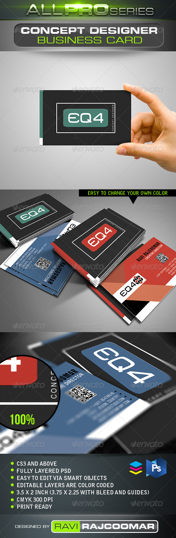 Concept Designer Business Card