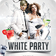 White Party Flyer Template - GraphicRiver Item for Sale