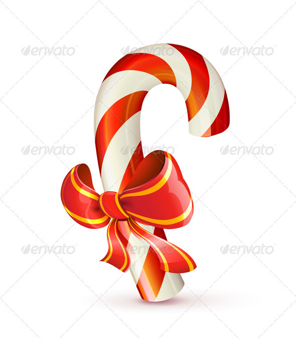 Christmas Candy Cane - Christmas Seasons/Holidays