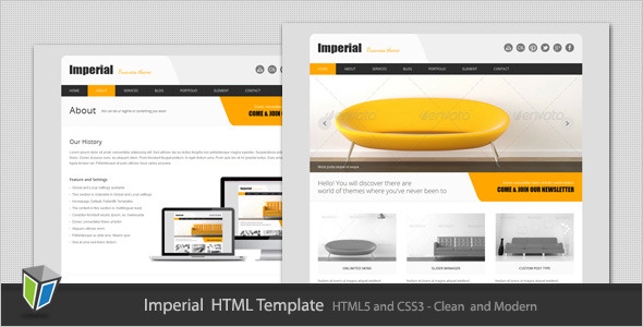 Imperial - Corporate Business HTML Template