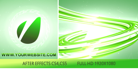 After Effects Project - VideoHive 3D Lines Logo Opener 2618093