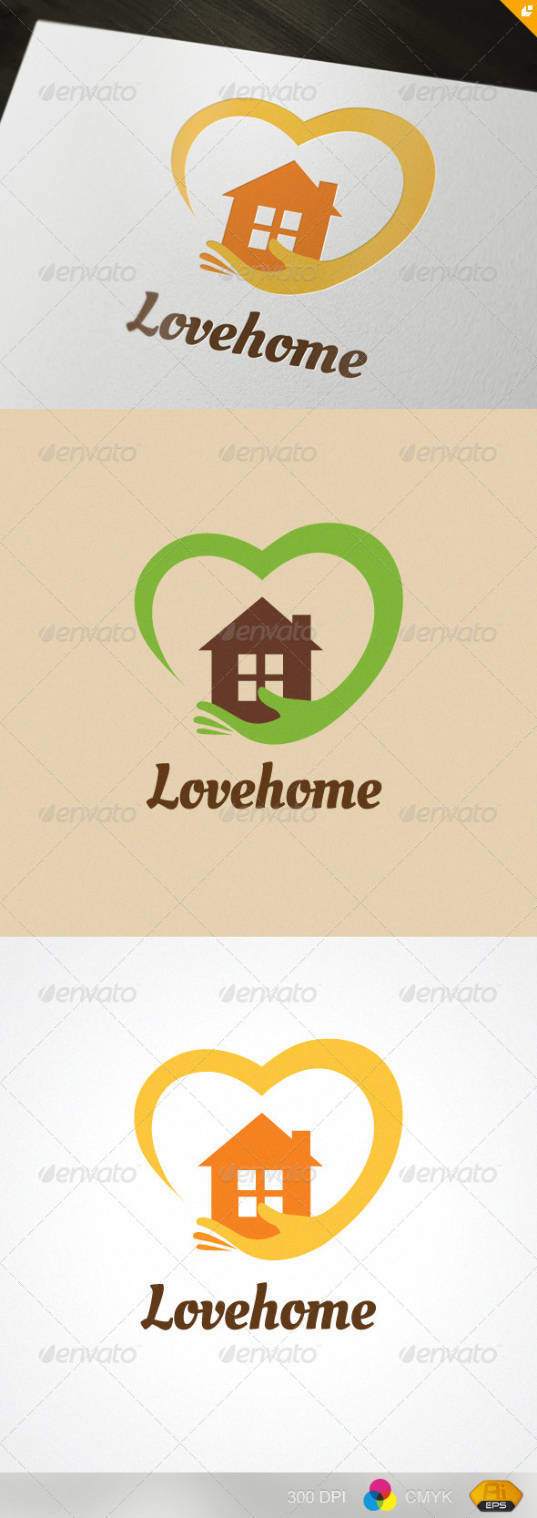 Lovehome logo - Buildings Logo Templates