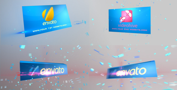 VideoHive Corporate Cube High energy Logo opener 2619188