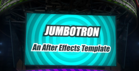 After Effects Project - VideoHive Jumbotron 2605173