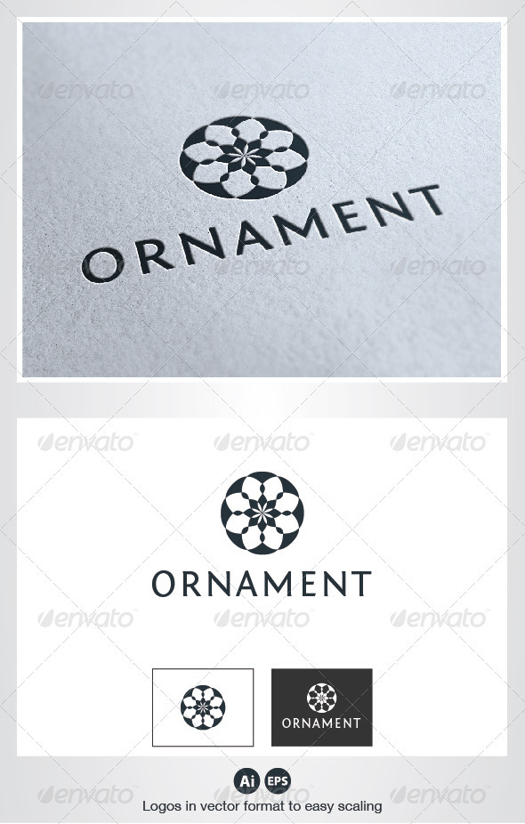Ornament Logo - Crests Logo Templates
