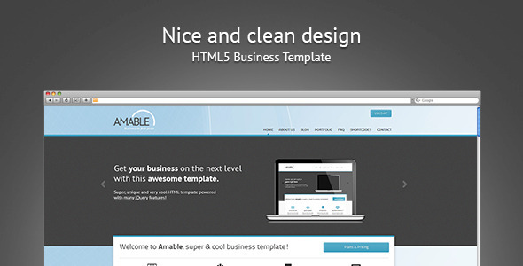 ThemeForest Amable Business In First Place 2618150
