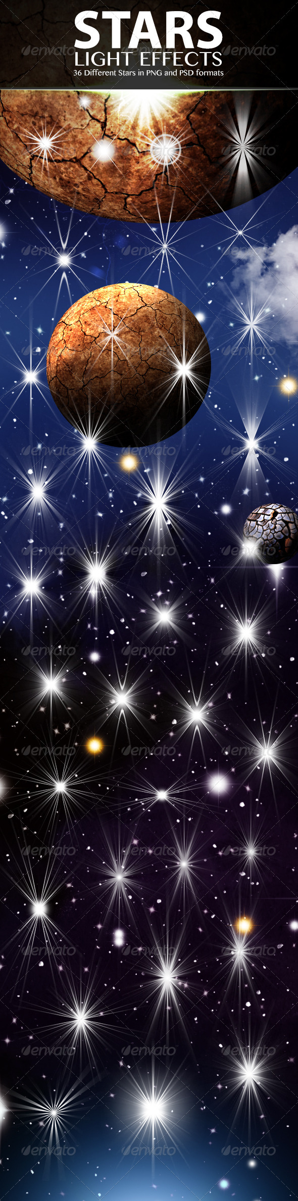 Stars Light Effects - Decorative Graphics