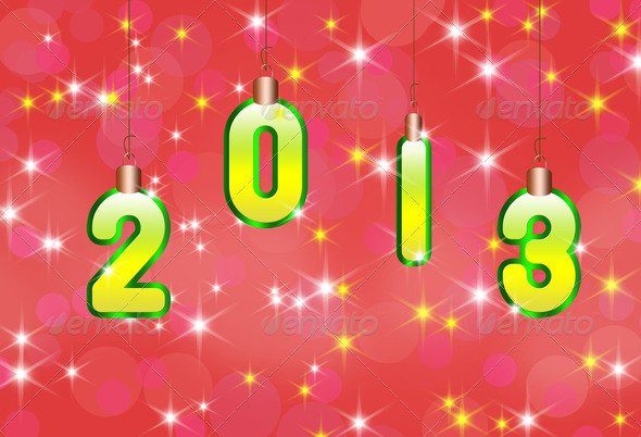 New year design background - Stock Photo - Images