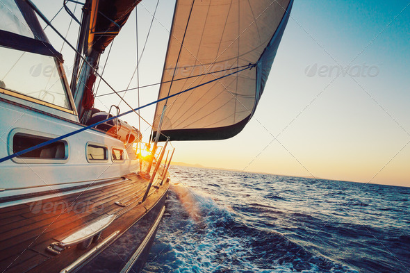Sailing - Stock Photo - Images