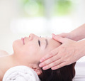close up of woman in head massage, spa - PhotoDune Item for Sale