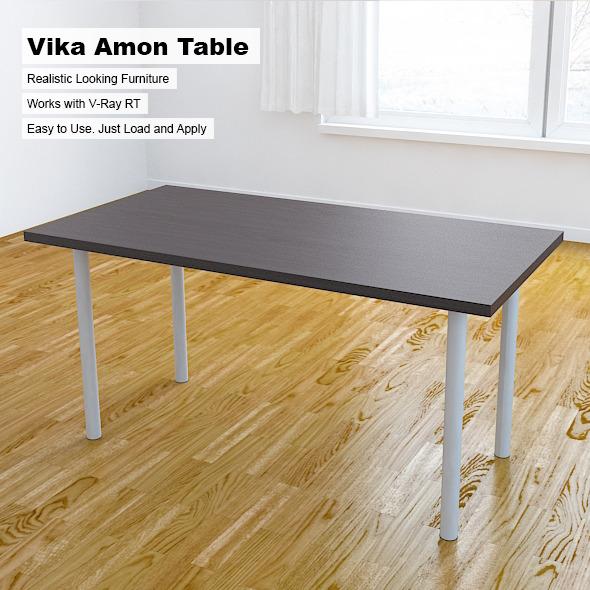 Vika Amon Table - 3DOcean Item for Sale