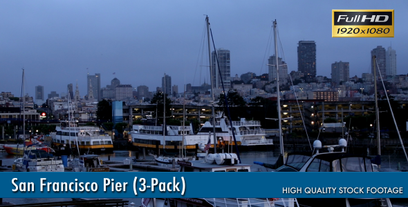 San Francisco Pier 3-Pack