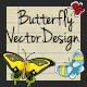 Butterfly Vector Design - GraphicRiver Item for Sale