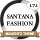 Santana Fashion Store - ThemeForest Item for Sale