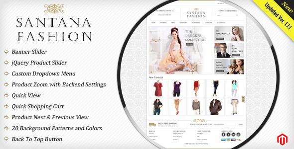 Santana Fashion Store - Magento eCommerce