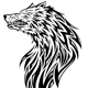 Download Vector Wolf Head Tattoo