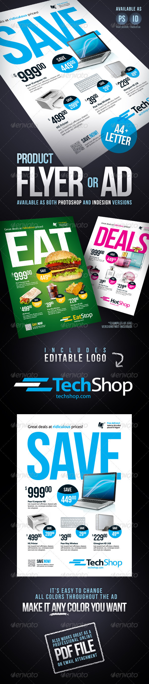 Product flyer Ad