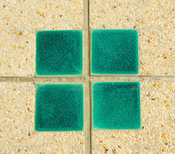 Cement tile surface. - Stock Photo - Images