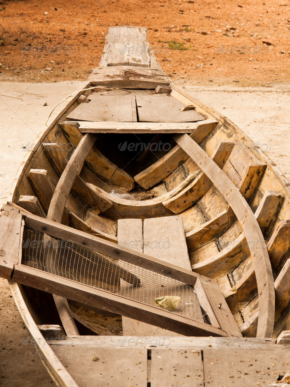 Old boat. - Stock Photo - Images