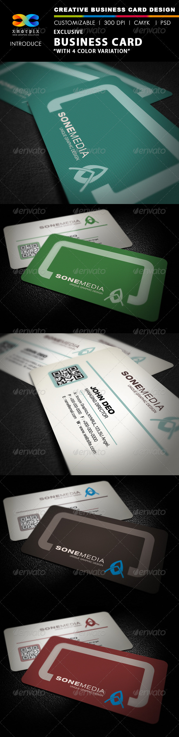 Exclusive Business Card - Corporate Business Cards