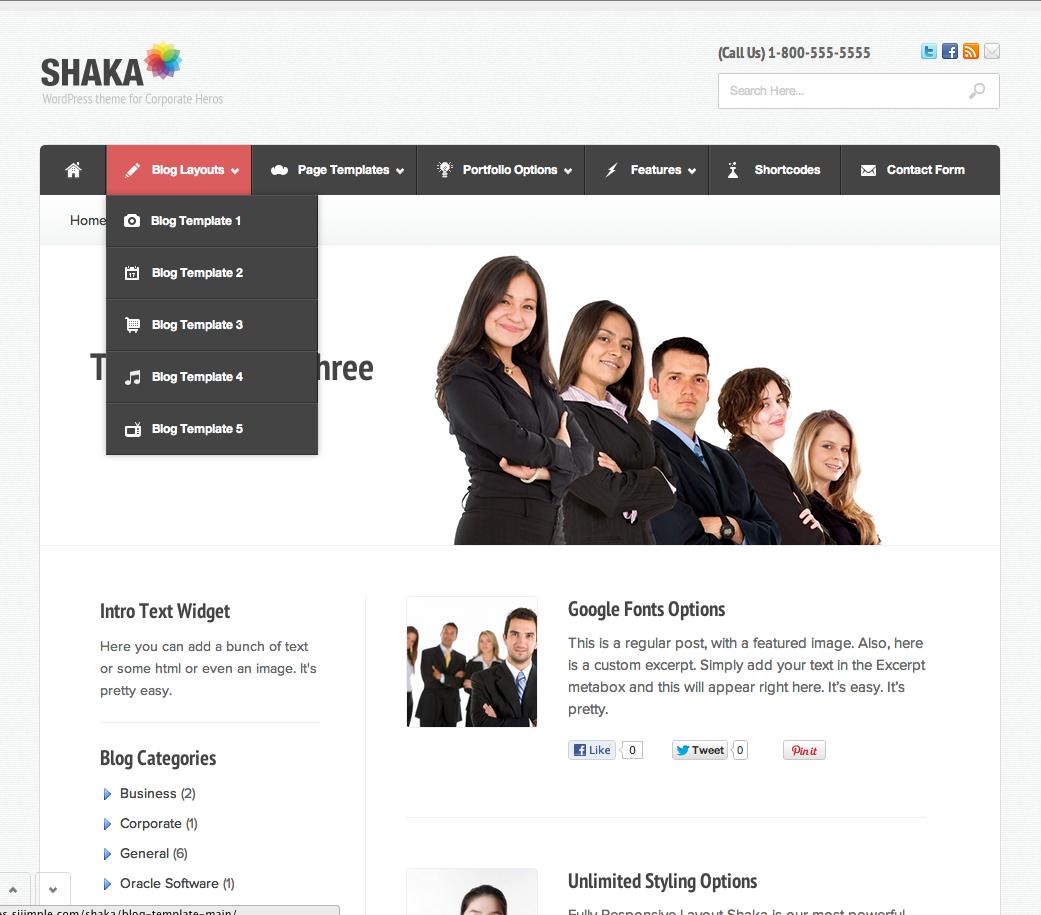 Shaka - Theme For Corporate Superheroes