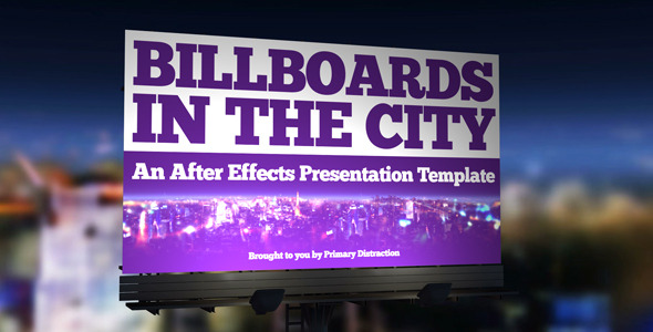VideoHive City Billboards 2623042