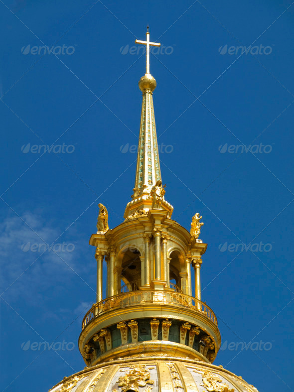 Les Invalides in Paris - Stock Photo - Images