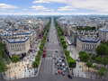 Paris Streets from Arc de Triomphe - PhotoDune Item for Sale