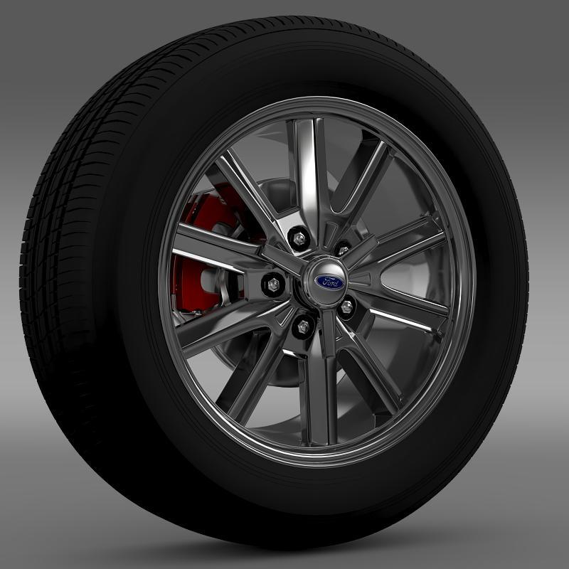 Ford Mustang 2005 wheel - 3DOcean Item for Sale