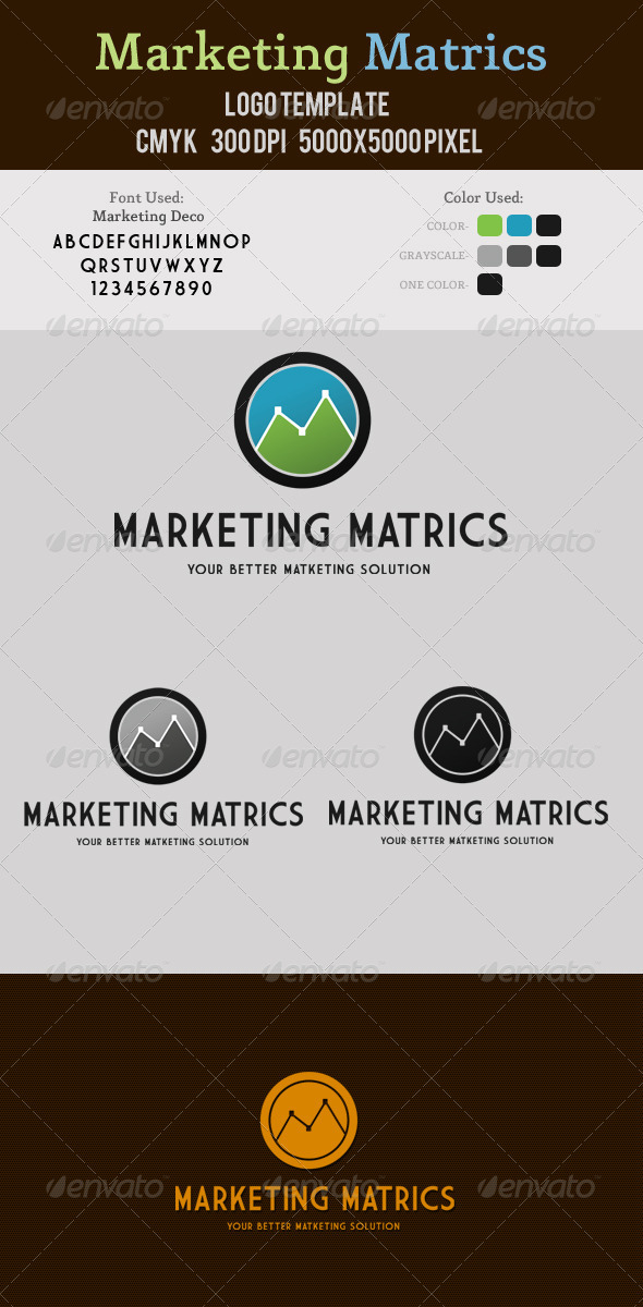 Marketing Metrics Logo