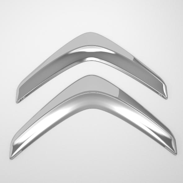 3DOcean Citroen Logo 2624353