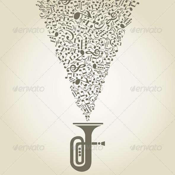 GraphicRiver Musical pipe 2625599