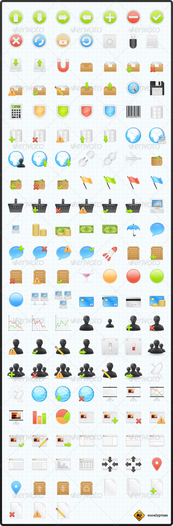 150 Business & Application Icons - Web Icons