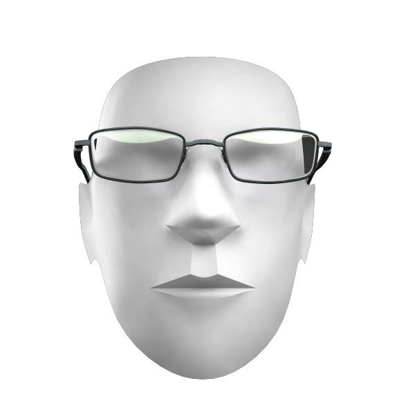 3DOcean Black Optics Glasses 2616520