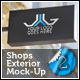 Shops Exterior Mock-Up Pack 2 - GraphicRiver Item for Sale